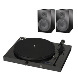 PRO-JECT SET JUKEBOX E + SPEAKER BOX 5 PIANO/PIANO INT (Комплект)